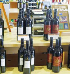 修道院ワインの品ぞろえはすごい