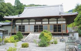 江岩寺に伝わる「江岩寺縁起」には、大山寺に関する史料も…。